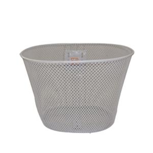 pusai white steel wire mesh basket