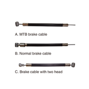 pusai brake cable with outer tube